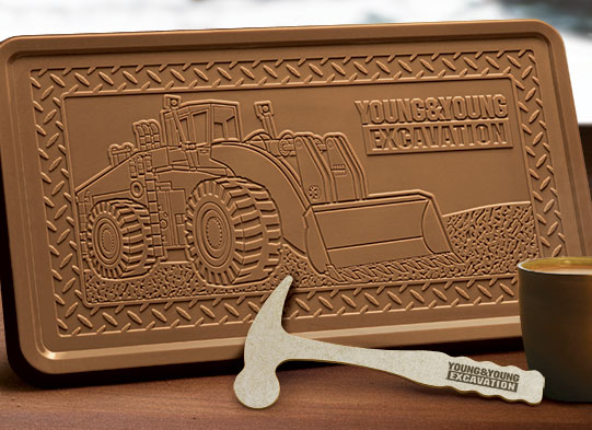 2LB CUSTOM CHOCOLATE BAR