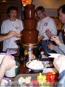 ATLANTA CHOCOLATE FOUNTAIN 27 inch chocolate fountain with Dark Belgian Chocolate - image