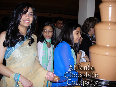 ATLANTA CHOCOLATE FOUNTAIN Sweet 16 PARTY