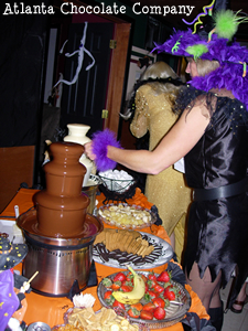 Halloween - Double Chocolate Fountain Party -image- ATLANTA CHOCOLATE FOUNTAIN