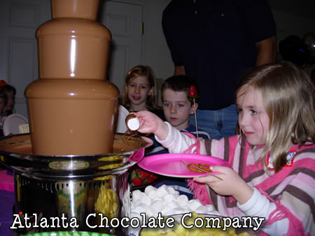 ATLANTA CHOCOLATE FOUNTAIN FOR KIDS PARTIES