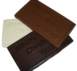 Custom Chocolate Molds for personal, business or fund raising use. Customize with your logo, graphic, message, names, dates, etc.  Totally customizable for your needs.
