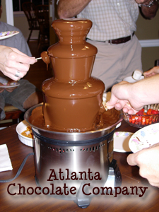 ATLANTA CHOCOLATE FOUNTAIN 19 inch chocolate fountain -image